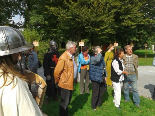 Gut besucht war der diesjährige Tag des offenen Denkmals 2014 am Burghügel